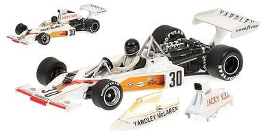 "McLaren M23 -Yardley- ""GP. Alemania"" nº 30 Jacky Ickx (1973) Minichamps 1/43"