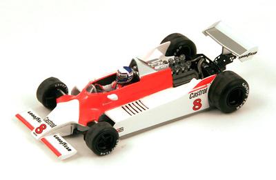 "McLaren M29 ""6º GP. Argentina"" nº 8 Alain Prost (1980) Spark 1/43"
