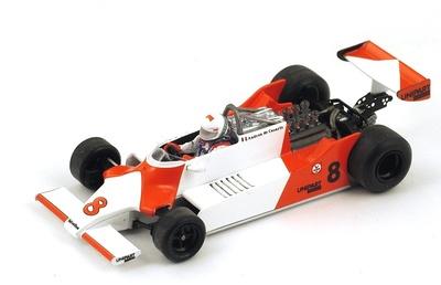 "McLaren M29 ""GP. Long Beach"" nº 8 Andrea de Cesaris (1981) Spark 1:43"