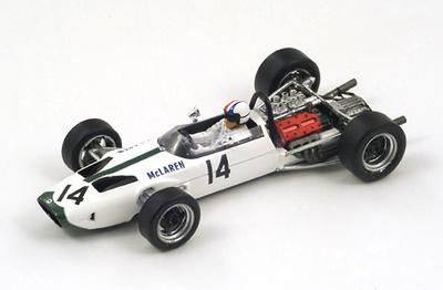 "McLaren M2B  ""GP Gran Bretaña""  nº 14  Bruce McLaren (1966) Spark 1/43"