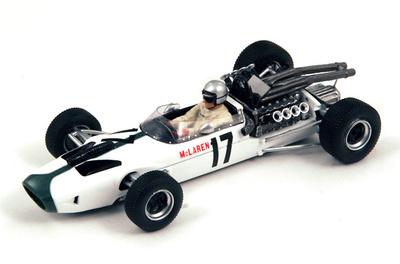 """McLaren M2B """"GP. México"""" nº 17 Bruce Mc Laren (1966) Spark 1:43"""