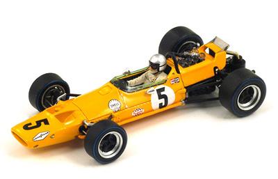 """McLaren M7A """"1º GP. Bélgica"""" nº 5 Bruce McLaren (1968) Spark 1:43"""