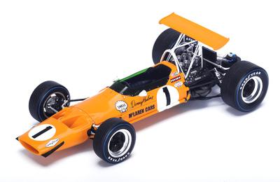 """McLaren M7A """"1º GP. Canadá"""" nº 1 Denny Hulme (1968) Spark 1:18"""