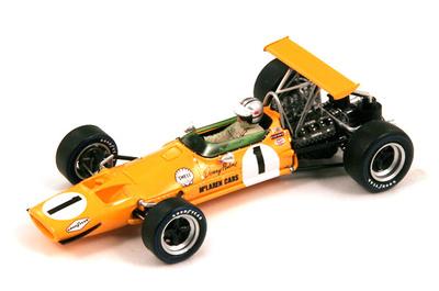 """McLaren M7A """"1º GP. Canadá"""" nº 1 Denny Hulme (1968) Spark 1:43"""