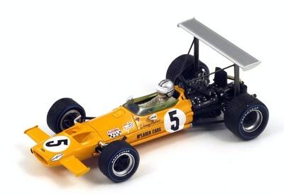 "McLaren M7A ""4º GP. España"" nº 5 Denny Hulme (1969) Spark 1:43"