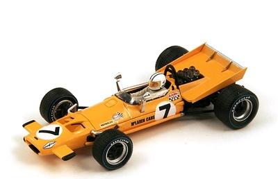 "McLaren M7A ""4º GP. Holanda"" nº 7 Denny Hulme (1969) Spark 1:43"