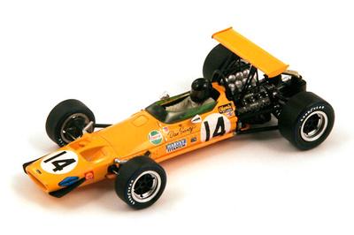 "McLaren M7A ""4º GP. USA"" n°14 Dan Gurney (1968) Spark S3097 1:43"