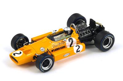 "McLaren M7A ""GP. España"" nº 2 Bruce McLaren (1968) Spark S3116 1:43"