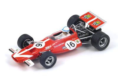 "McLaren M7C ""6º GP. Holanda"" nº 16 John Surtees (1970) Spark 1:43"