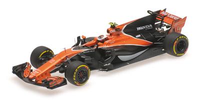 """McLaren MCL32 """"GP. China"""" nº 2 Stoffel Vandoorne (2017) Minichamps 1:43"""