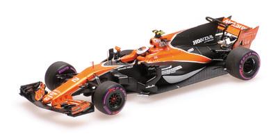"""McLaren MCL32 """"GP. Mónaco"""" nº 2 Stoffel Vamdoorne (2017) Minichamps 1:43"""