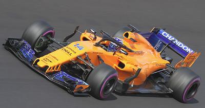 "McLaren MCL33 ""Abu Dhabi"" nº 14 Fernando Alonso ""última carrera"" (2018) Minichamps 1/43"