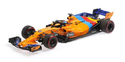 "McLaren MCL33 ""GP. Abu Dhabi"" nº 14 Fernando Alonso última carrera (2018) Minichamps 1:18"