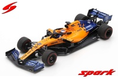 "McLaren MCL34 ""GP. Australia"" nº 55 Carlos Sainz (2019) Spark 1/43"