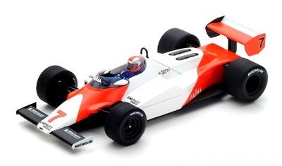 """McLaren MP4-1C """"GP. EEUU Oeste"""" nº 7 John Watson (1983) Spark 1:43"""