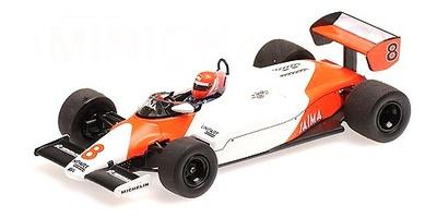 McLaren MP4-1C nº 8 Niki Lauda (1983) Minichamps 1:43
