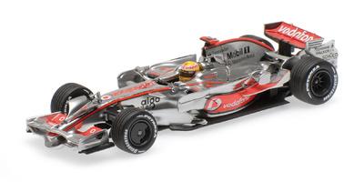 "McLaren MP4-23 nº 22 ""GP. Brasil"" Lewis Hamilton (2008) Minichamps 1:43"