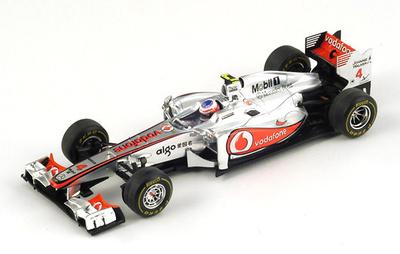 "McLaren MP4-26 ""1º GP Hungria"" nº 4 Jenson Button (2011) Spark 1/43"