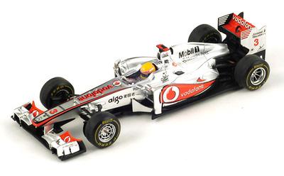 "McLaren MP4-26 ""GP Alemania"" Nº 3 Lewis Hamilton (2011) Spark 1/43"