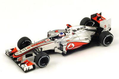 "McLaren MP4-27 ""1º GP Brasil"" nº 3 Jenson Button (2012) Spark S3049 1/43"