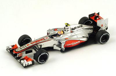 "McLaren MP4-27 ""1º GP. USA"" nº 4 Lewis Hamilton (2012) Spark 1/43"