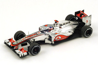 "McLaren MP4-27 ""GP Bélgica"" nº 3 Jenson Button (2012) Spark 1/43"