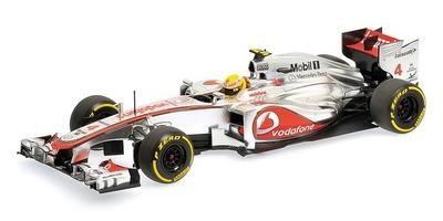 McLaren MP4-27 nº 4 Lewis Hamilton (2012) Minichamps 1:18