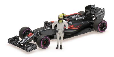 "McLaren MP4-31 ""GP. Abu Dhabi"" nº 22 Jenson Button (2016) Minichamps 1:43"