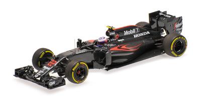 """McLaren MP4-31 """"GP. Australia"""" nº 22 Jenson Button (2016) Minichamps 1:43"""