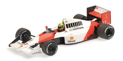 McLaren MP4-5B nº 27 Ayrton Senna (1990) Minichamps 1/43