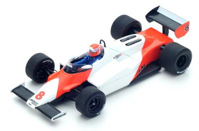 """McLaren MP4/1C """"2º GP. Long Beach"""" nº 8 Niki Lauda (1983) Spark 1:43"""