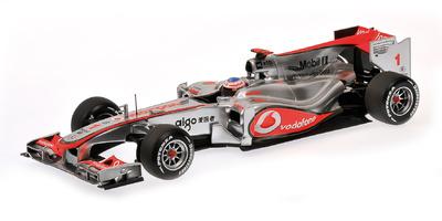 McLaren MP4/25 nº 1 Jenson Button (2010) Minichamps 1/18