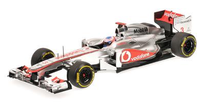 "McLaren MP4/27A ""Showcar"" nº 3 Jenson Button (2012) Minichamps 1/18"