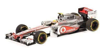 """McLaren MP4/27A """"Showcar"""" nº 4 Lewis Hamilton (2012) Minichamps 1/43"""