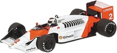 McLaren MP4/3 nº 2 Stefan Johanson (1987) Minichamps 1/43