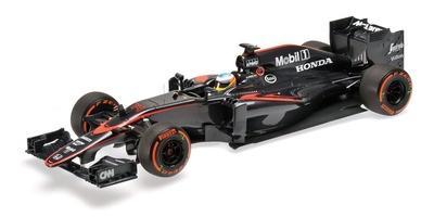 "McLaren MP4/30 ""GP. España"" nº 14 Fernando Alonso  (2015) Minichamps 1:18"