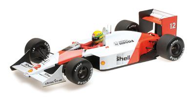 McLaren MP4/4 nº 12 Ayrton Senna (1988) Minichamps 1:12