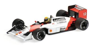 McLaren MP4/4 nº 12 Ayrton Senna (1988) Minichamps 1:43