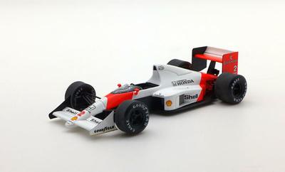 "McLaren MP4/5 ""1º GP Francia"" nº 2 Alain Prost (1989) 1/43"