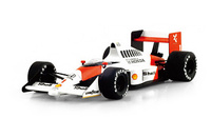 "McLaren MP4/5  ""1º GP. Alemania"" nº 1 Ayrton Senna (1989) True Scale Models 1:43"