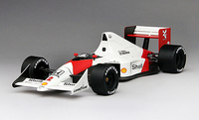 "McLaren MP4/5 ""2º GP. Mónaco"" nº 2 Alain Prost (1989) True Scale 1:18"