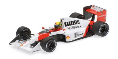 McLaren MP4/5 nº 1 Ayrton Senna (1989) Minichamps 1:43
