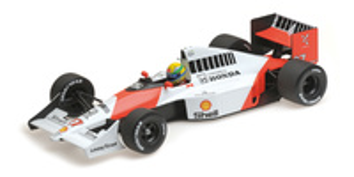 McLaren MP4/5B nº 27 Ayrton Senna (1990) Minichamps 1/18