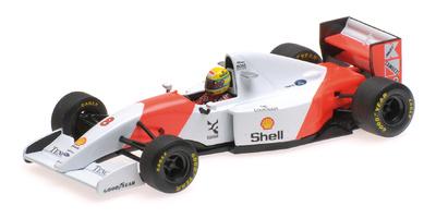 McLaren MP4/8 nº 8 Ayrton Senna (1993) Minichamps 1:43