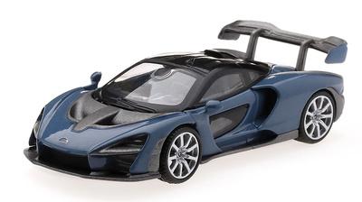 McLaren Senna Victory Grey (2018) TSM Model 1:64
