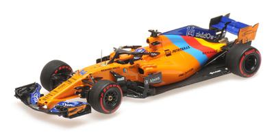 "Mclaren MCL33 ""GP. Abu Dhabi"" nº 14 Fernando Alonso (2018) Minichamps 1:43"