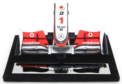 Mclaren MP4/25 Frontal del Monoplaza Nº 1 Jenson Button (2010) Amalgam 1/12
