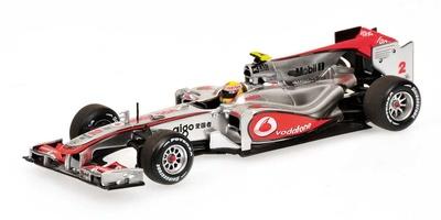 Mclaren MP4/25 nº 2 Lewis Hamilton (2010) Minichamps 1/43