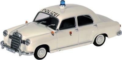 "Mercedes 180 (1953) ""Polizei Trier"" -W180- Minichamps 1/43"