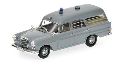 "Mercedes 190 ""Cruz Roja Alemana"" -W110- (1960) Minichamps 1/43"